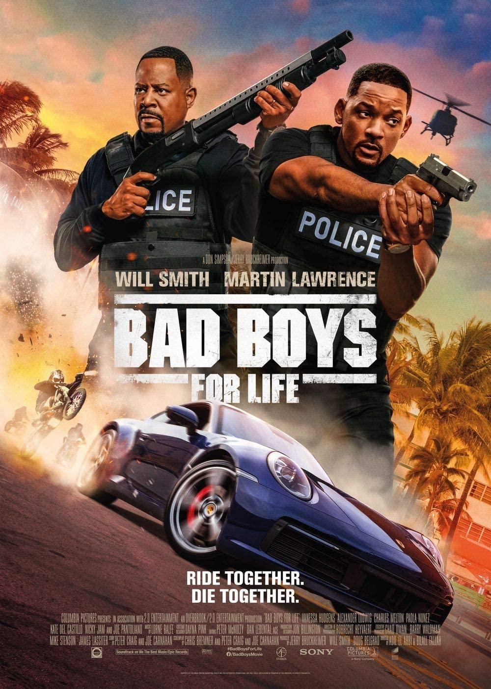 دانلود فیلم پسران بد 3 تا ابد Bad Boys for Life 2020