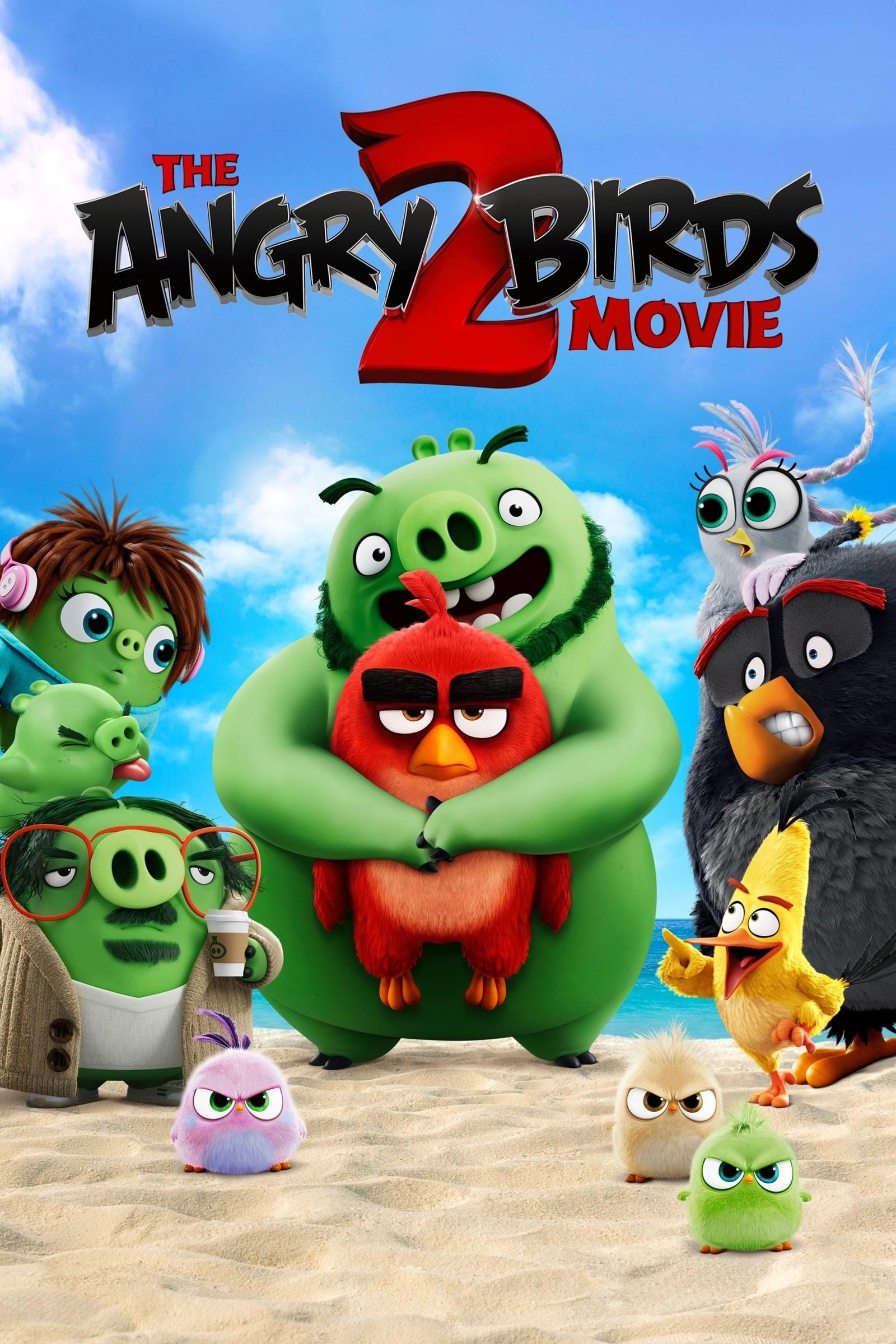 دانلود انیمیشن پرندگان خشمگین 2 The Angry Birds Movie 2 2019