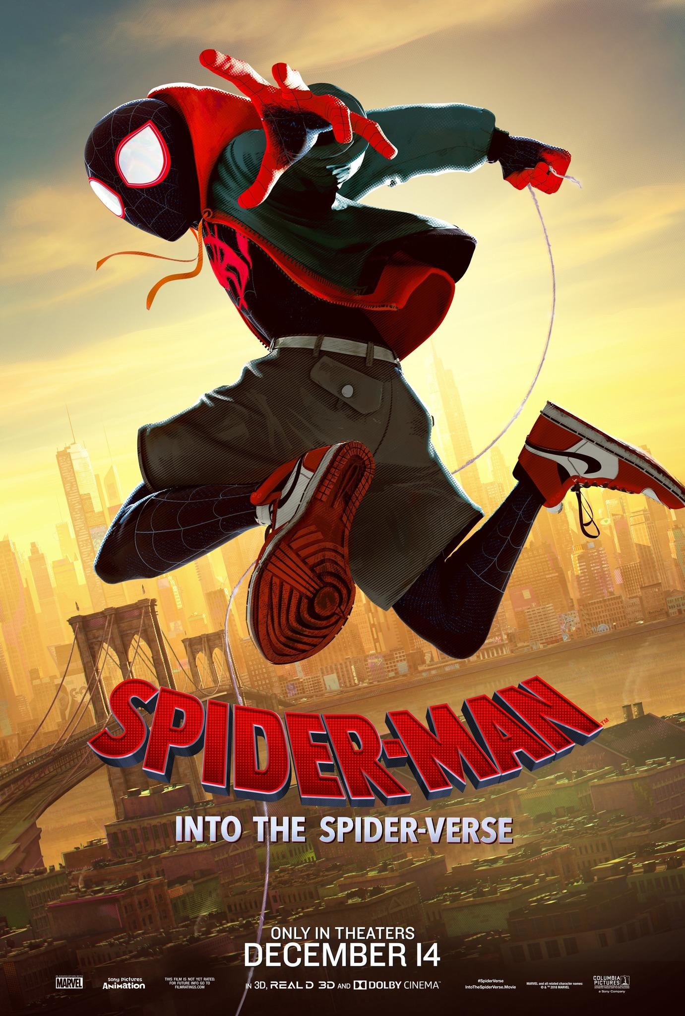 دانلود انیمیشن مرد عنکبوتی سفر به دنیای عنکبوتی Spider Man Into the Spider Verse 2018