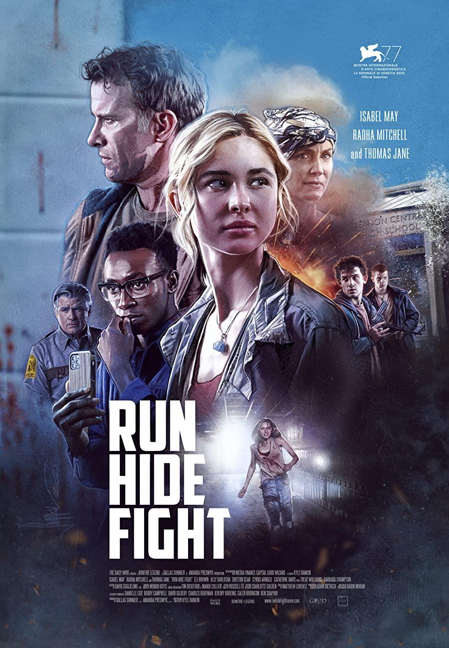 دانلود فیلم بدو پنهان شو مبارزه کن Run Hide Fight 2021