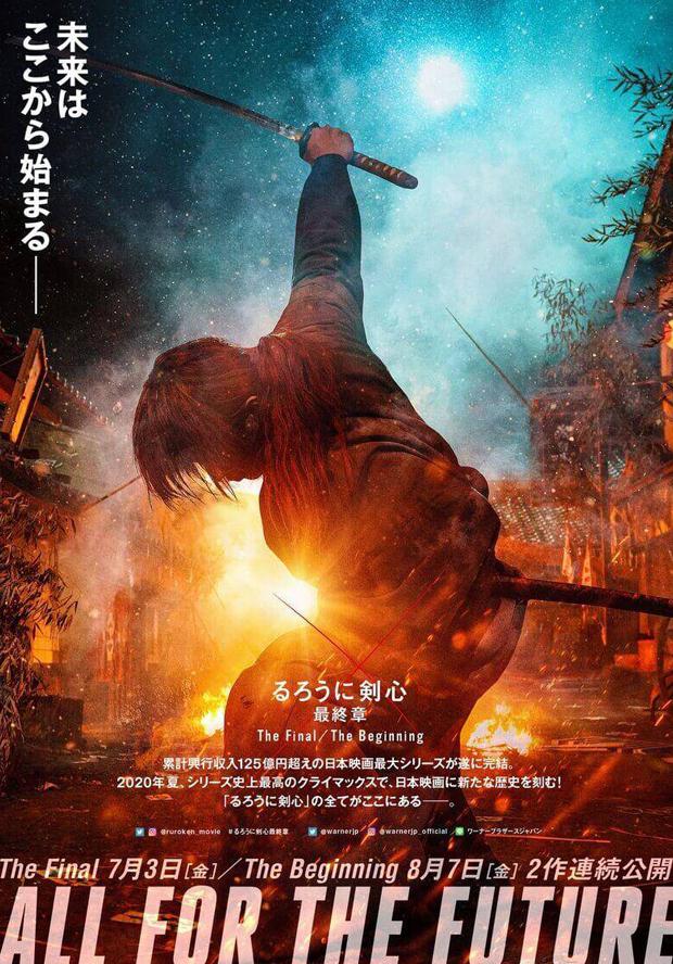 دانلود فیلم شمشیرزن دوره گرد پایان Rurouni Kenshin The Final 2021
