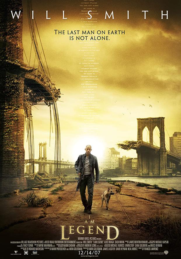 دانلود فیلم من افسانه ام I Am Legend 2007